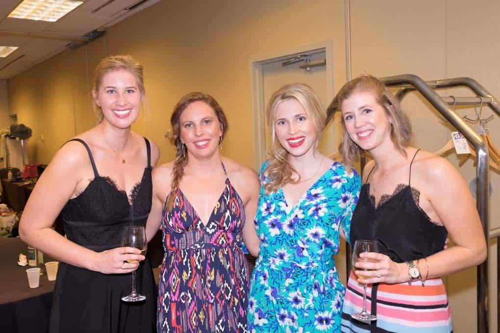 Sam Reynolds, Brittany Wilson, Kara Manley, and Britt Petrilla