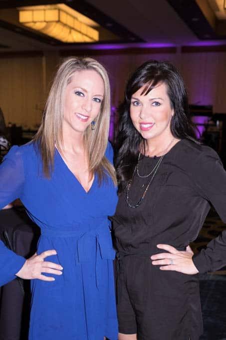 Tracey Bogie and Jennie Gainey