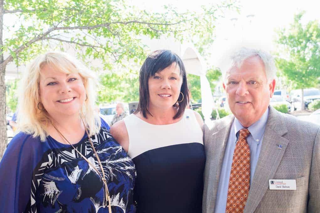 Lisa Shelnutt, Tricia Lukanic, and David Shelnutt